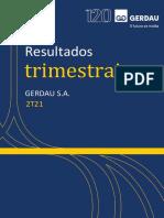 Press Release Do Resultado Da Gerdau Do 2t21