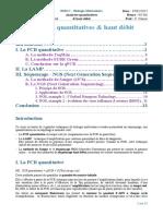 2- Analyses quantitatives & haut dÇbit
