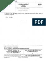 NBR 05422 - 1985 - Projeto de linhas aéreas de transmissão de energia elétrica