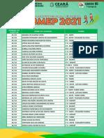 OBMEP  2021 - APROVADOS PARA SEGUNDA FASE
