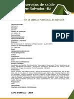 Lista de serviços de saúde em Salvador  (1)