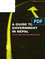 A Guide to Government in Nepal