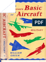 Observer's Book of Basic Aircraft Military 1967