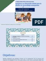 Diseño y adaptación STS-Educación Inicial Ambientes Aprendizaje-Uso Aprendamos Todos a Leer-PTA