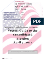 Highland Park Voting Guide 2011 - League of Women Voters