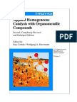 Applied Homogeneous Catalysis With Organo-Metallic Compounds - 2nd Edition