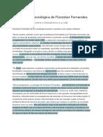 Sociologia - Florestan Fernandes