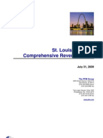 St. Louis, Missouri Comprehensive Revenue Study 2009, by the PFM Group