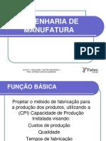 Engenharia de Manufatura - Fatec Sp
