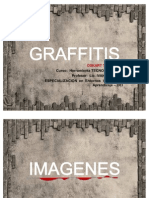 Graffitis imagen y texto