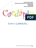Plano Alimentar - Davi Gabriel PDF