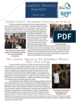 Winter 11 Newsletter