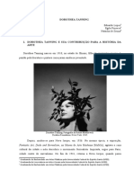 Dorothea Tanning - Uma analise