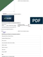 Prova Unibf Metodologia Cientifica