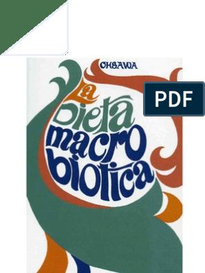 Dieta macrobiotica cose