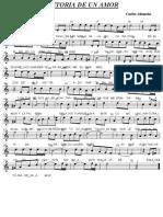 História de Um Amor Sax Soprano Bb