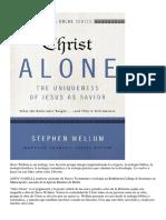 04 Stephen Wellun - Solus Christus