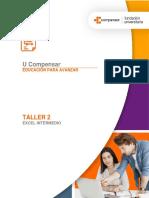 Taller 2 - Enunciado - Excel Intermedio
