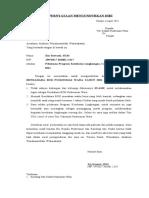 Surat Pernyataan Mengundurkan Diri