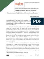 Avaliação Na e Da Educação Infantil_ Avaliação de Contexto