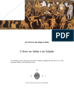 O Divino Nos Sofistas e Em Eurípides 2
