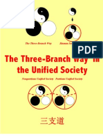 The Three-Branch Way in the Unified Society