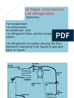 Vapor compression type refrigeration