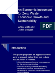 An Economic Instrument for zero waste, economic V.2