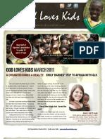 March GLK newsletter