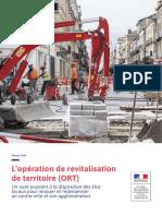 Brochure Operation de Revitalisation de Territoire Fevrier 2019