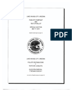 Voter Pamphlet - Official Document