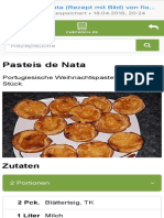 Pasteis de Nata (Rezept Mit Bild) Von Floh Chefkoch.de