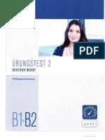 Telc Übungstest 2 B1-B2 Deutsch Beruf