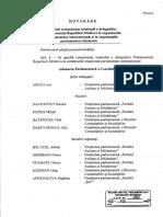 Delegațiile Parlamentului RM la organizațiile parlamentare internaționale și organizațiile parlamentare bilaterale