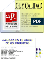 2-LA CALIDAD EN EL CICLO DE UN PRODUCTO