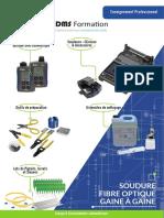 Z720 115 - A - Pack soudure fibre optique Gaine à Gaine