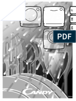 Candy CDPN 1L390PW, CDPN 1L390SW Dishwasher Manual EN DE FR ES IT