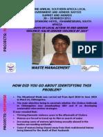PROJECTS Presentation _ Response_Chitungwiza_Clara Makwara