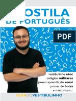 Apostila de Português - guia do vestibulinho