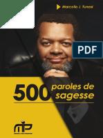500paroles de Sagesse