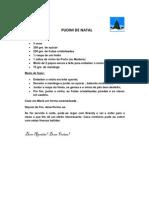 PUDIM DE NATAL