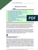 eBusiness - Managementul monetarului (Curs)
