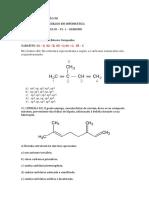 Química III - P1-1 - Carbono (Maria Campanha)