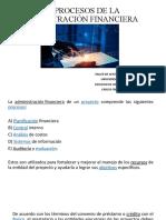 12 - LOS PROCESOS DE LA ADMINISTRACIÓN FINANCIERA
