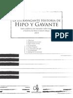LA EXTRAVAGANTE HISTORIA DE HIPO Y GAVANTE