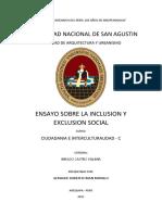 Ensayo exclusion social - ROMAN