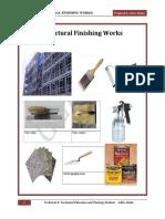 Structral Finshing Works Student Version(1)