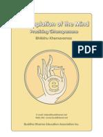 ebook - Buddhist Meditation - Contemplation of the Mind