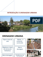 AULA 2 INTRODUÇÃO A Drenagem Urbana