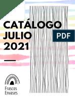 CATÁLOGO JULIO 2021